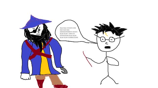 Harry Potter vs Pirate 1