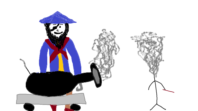 Harry Potter vs Pirate 4