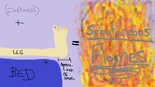 Spontaneous Flames